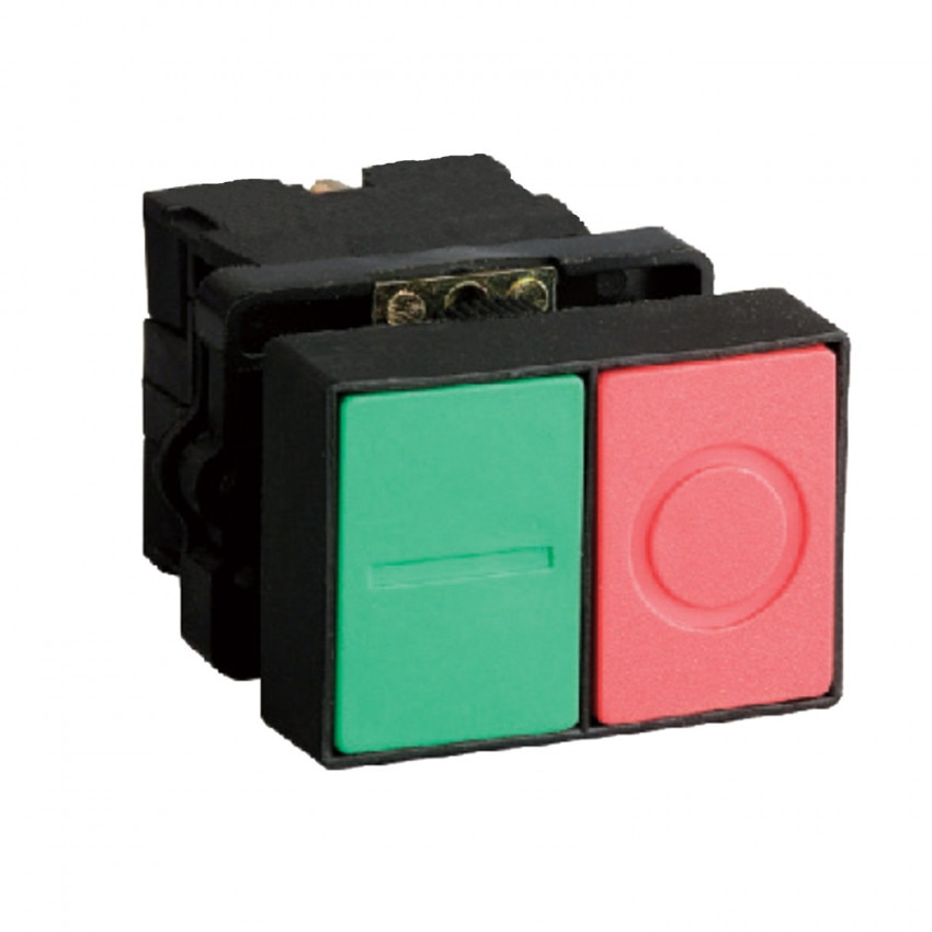 IP65 Double Push Button