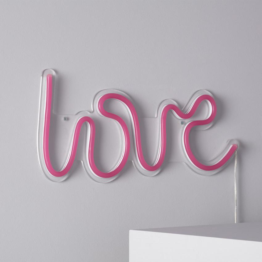 "Neon ""LOVE"" Sign"