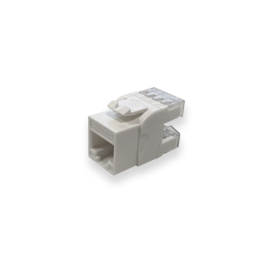 OPENETICS 5847 CAT6 UTP  RJ45 180º Slim Female Connector