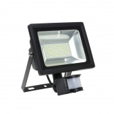 30W SMD LED Floodlight with Detector (120lm/W)
