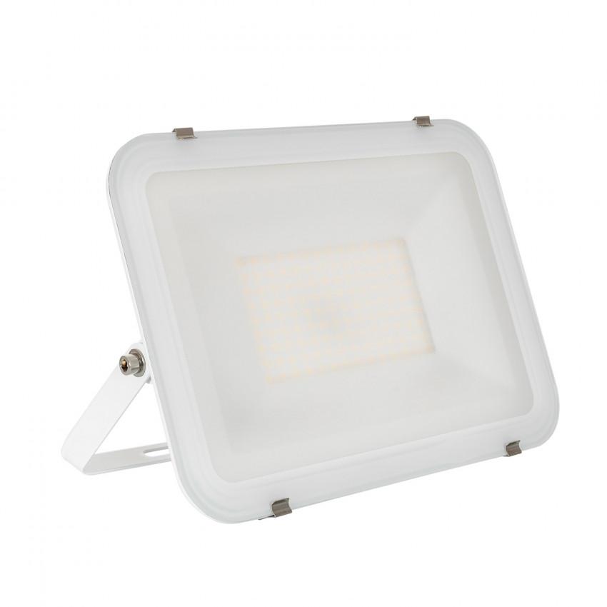 White 100W 120lm/W IP65 UltraSlim LED Floodlight