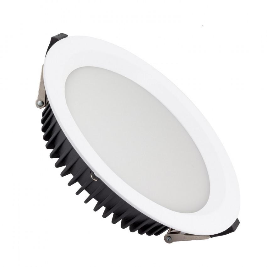 50W New Aero Slim LED SAMSUNG Downligh 130 lm/W (UGR19) LIFUD Ø 200 mm Cut-Out