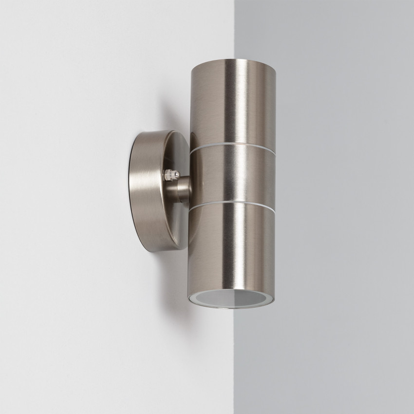 Satin Stainless Steel Double Sided Wall Light