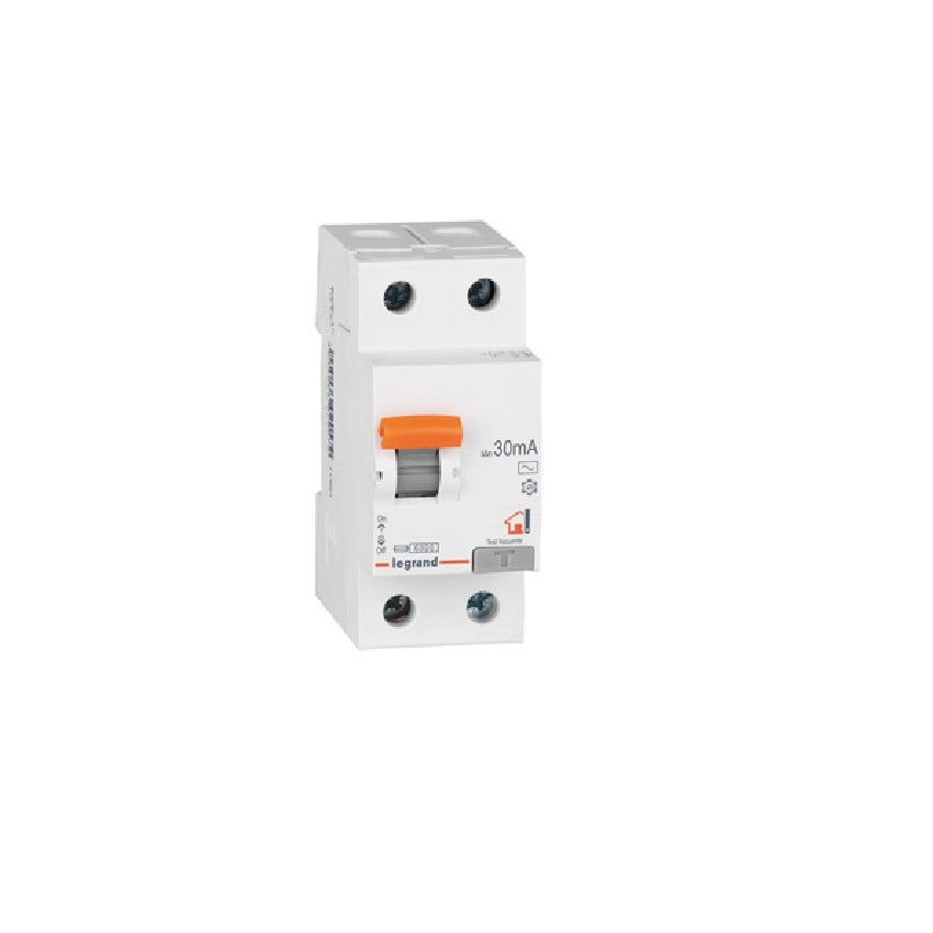 LEGRAND 402056 Type AC 25-40 A 2P 30mA  Residential RX3 Differential Switch