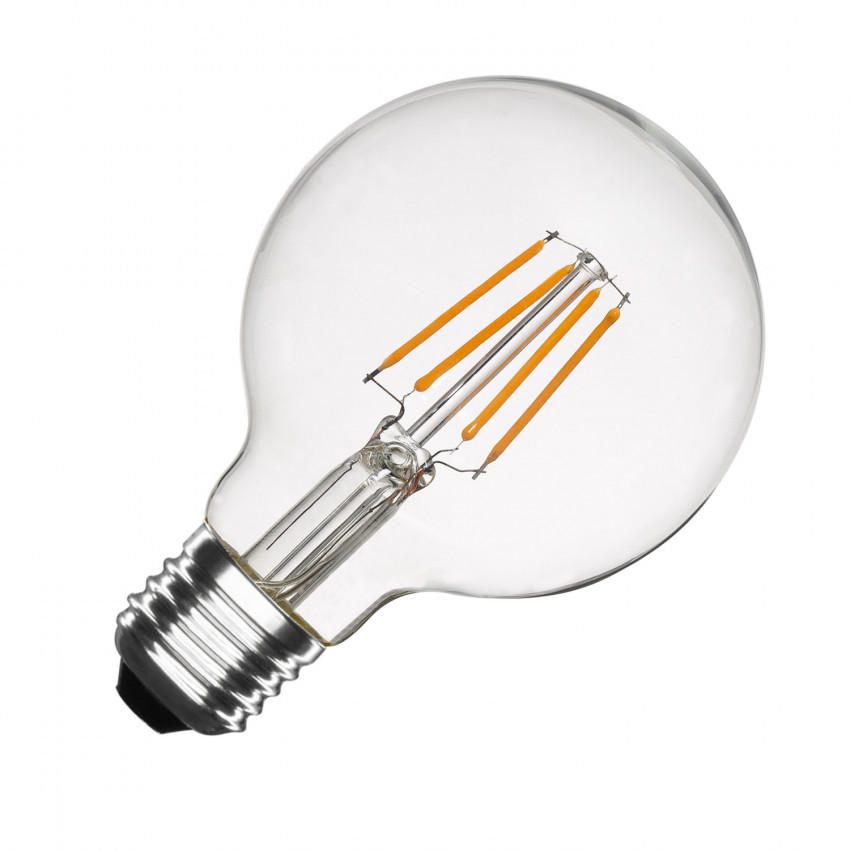 G80 E27 6W Balloon Filament LED Bulb (Dimmable)