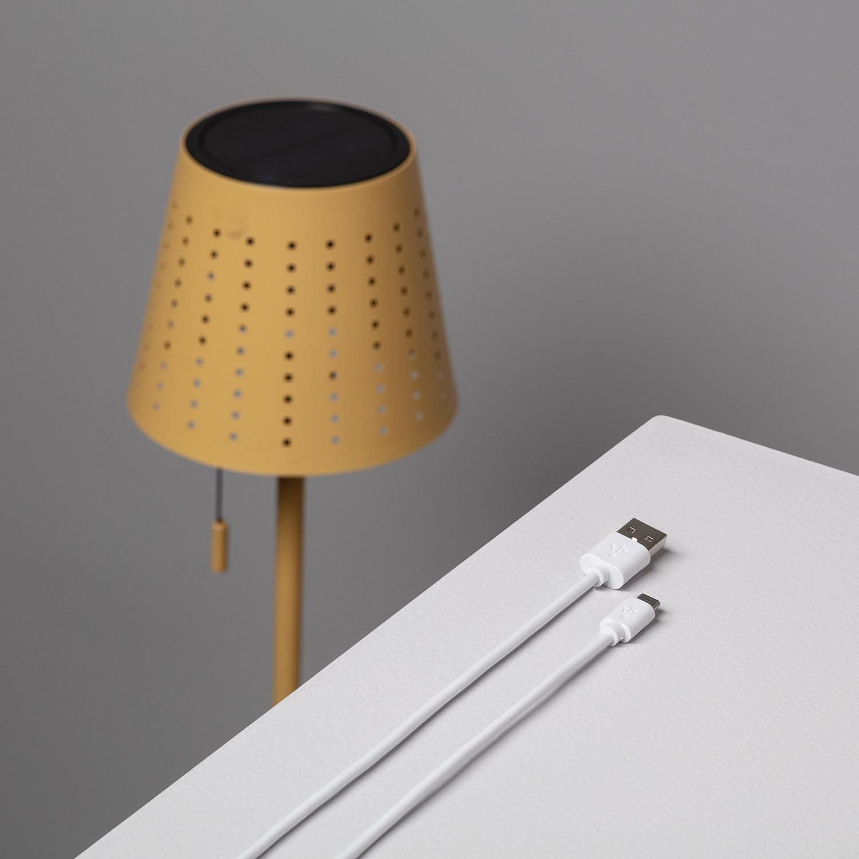 Lámpara de Pie LED Solar Banate