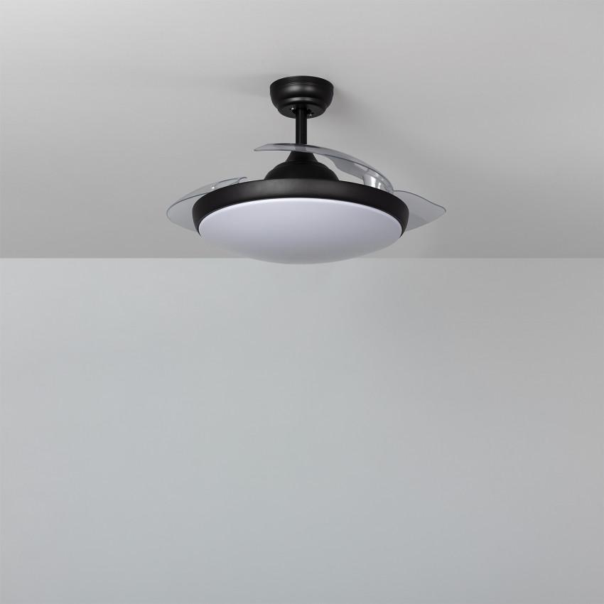Ceiling Fan Kourak Black LED 106cm DC Motor