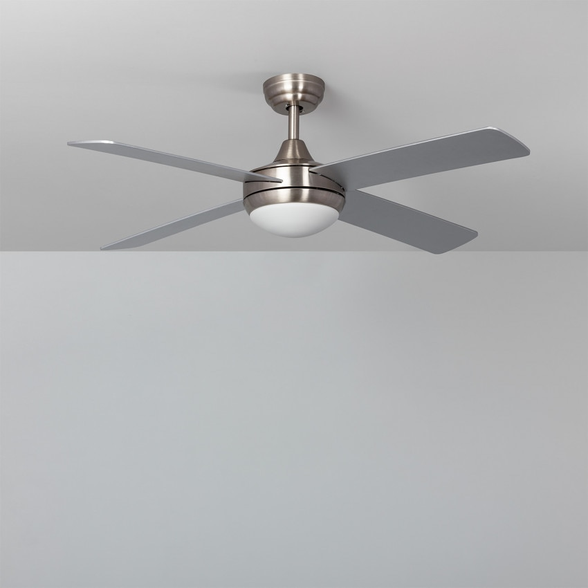Ceiling Fan Leirus Nickel LED 107cm DC Motor