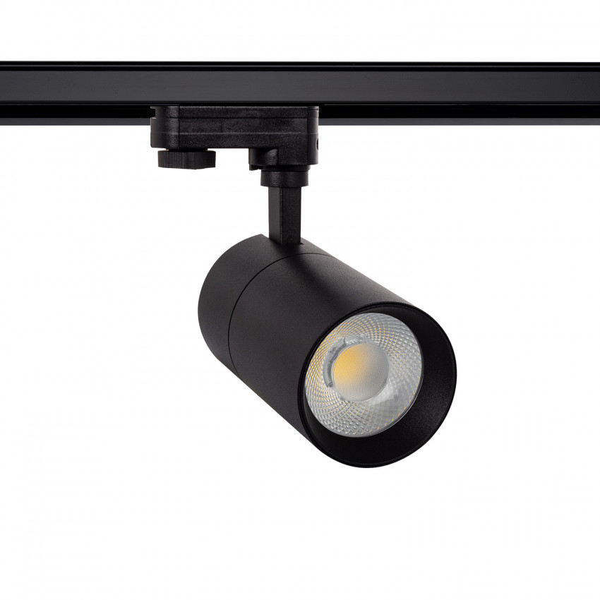 Black 20W New Mallet LED Spotlight  for Three-Circuit Track (Dimmable)
