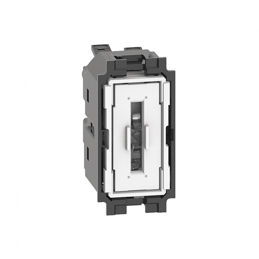Bticino Living Now K4001A 250V AC 1 Module 10 AX Single Switch Mechanism