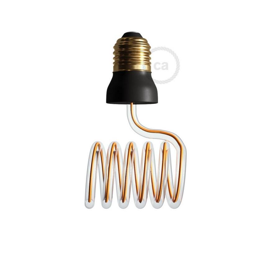 12W E27 Creative-Cables Art Loop Cross SEG50157 Dimmable Filament LED Bulb