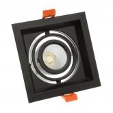10W Adjustable Madison CREE-COB LED Spotlight in Black