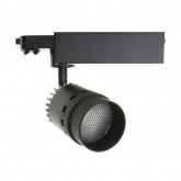 20W Three-Circuit Cannon LED Track Light in Black