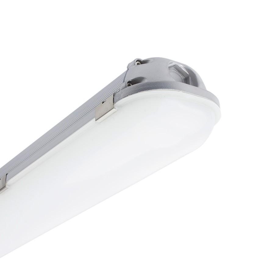 Aluminium 1200mm (4ft) 40W Integrated-LED Tri-Proof Light