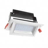 20W Adjustable Rectangular Samsung LED Spotlight Projector (120lm/W)