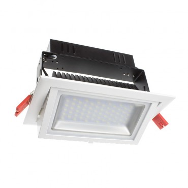 28W Adjustable Rectangular Samsung LED Spotlight Projector (120lm/W)
