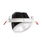 60W Round Adjustable Samsung LED Spotlight 120lm/W