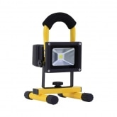 Portable 10W LED Floodlight with a Battery (Cool White)