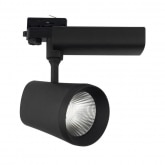 Black 40W D'Angelo Citizen LED Spotlight for a Three-Circuit Track
