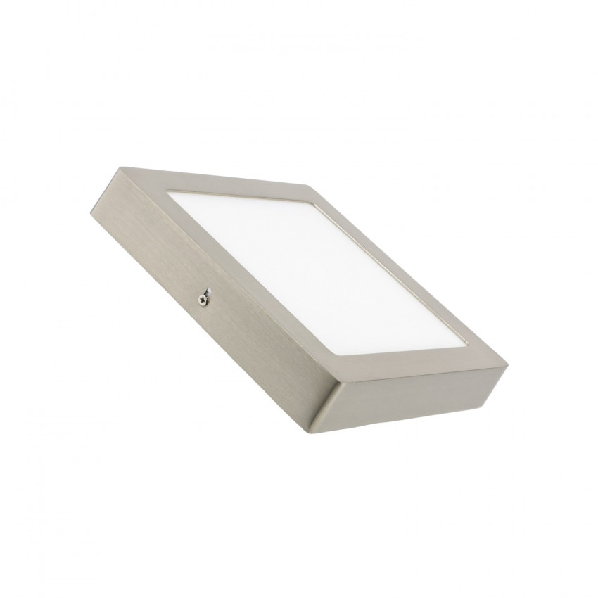 Silver Square 18W LED Surface Panel