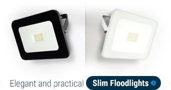 Elegant and practical Slim Floodlights